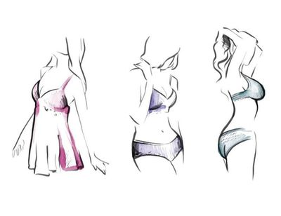 Illustration Rêverie lingerie Nogent Le Rotrou