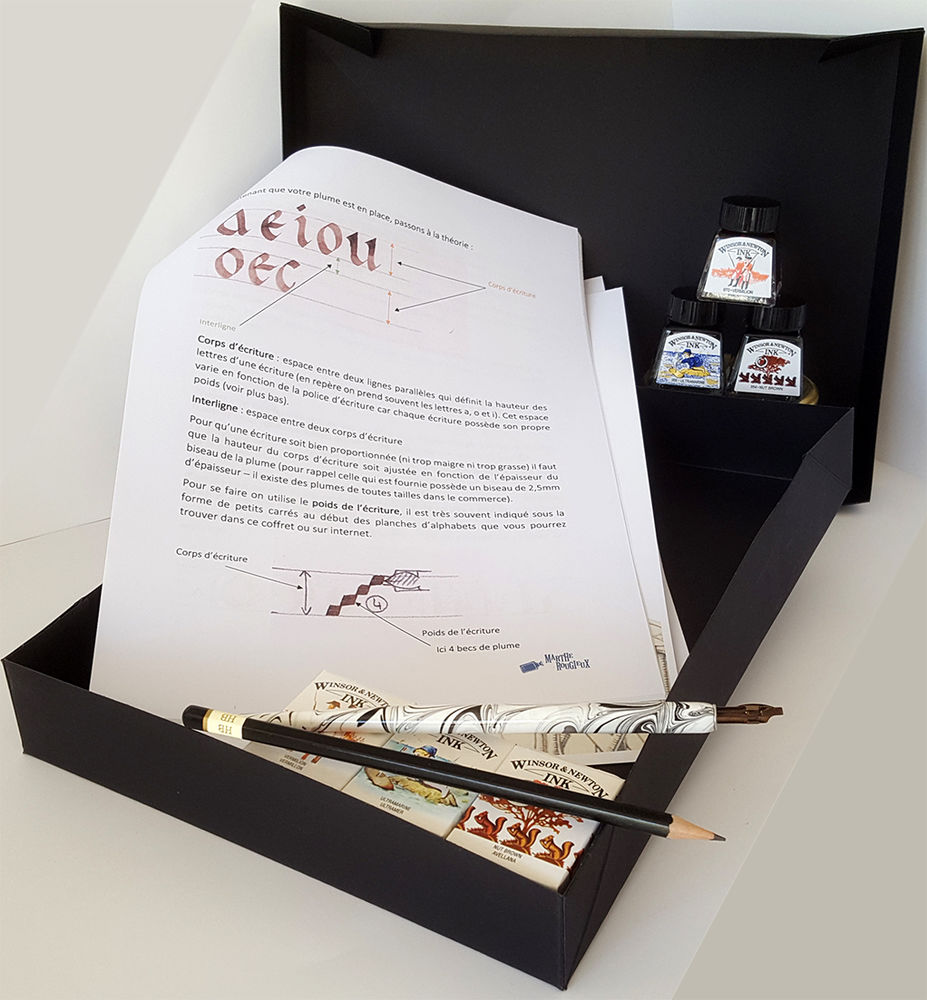 Image product Coffret Calligraphie 256872