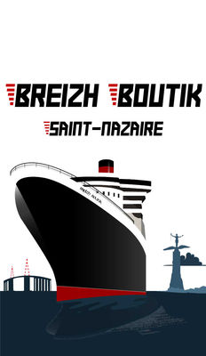 Illustration Breizh Boutik Saint Nazaire