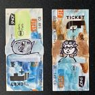 Image thumbnail product Tableaux miniatures tickets de metro Chrismali 360188