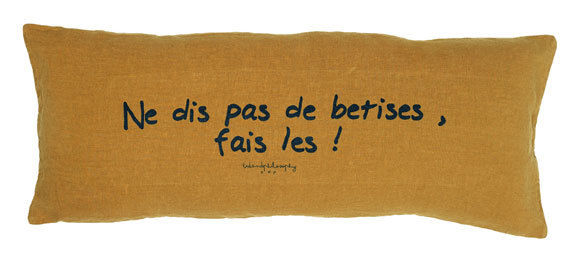 Image product Long coussin message 367259