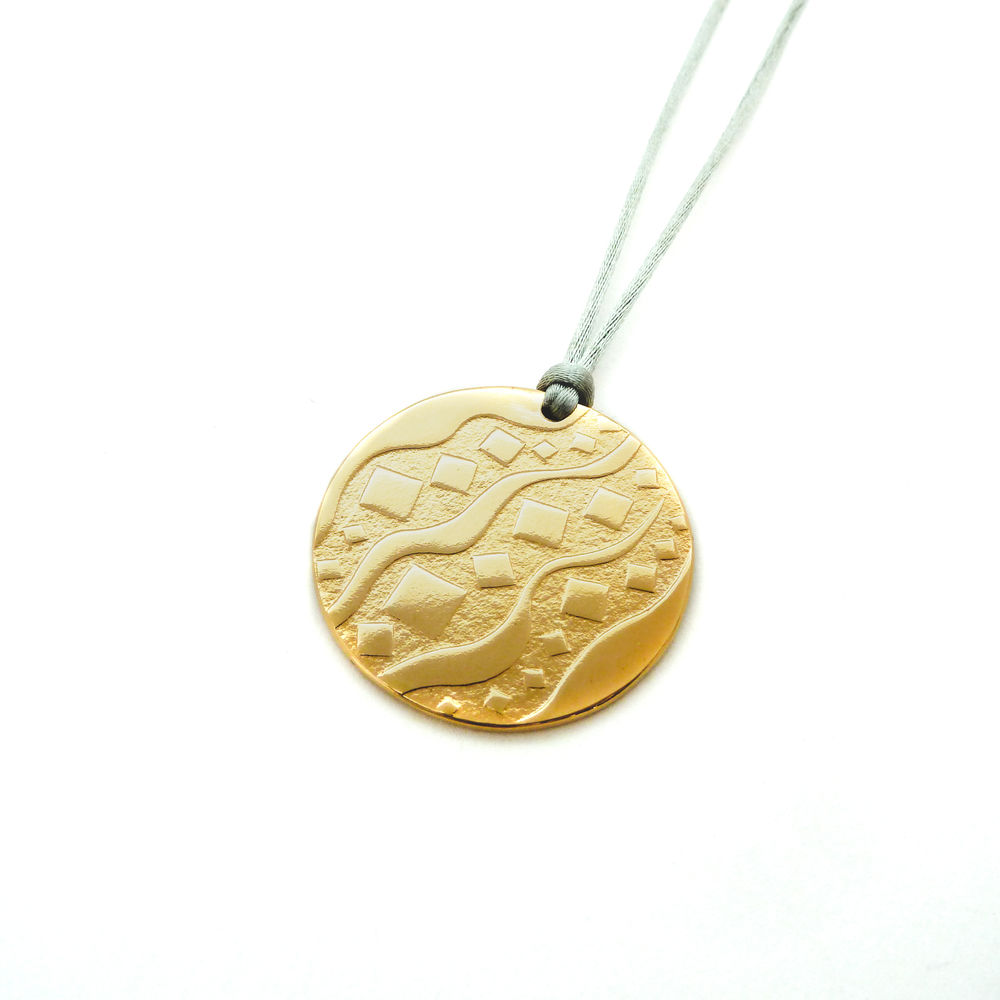 Image product Pendentif Camden - Bronze plaqué or 18ct 5 microns 402216