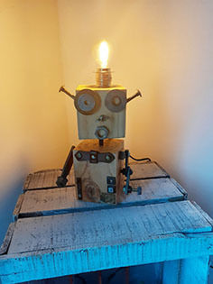 "Image product Lampe-robot ""Bloop"" 407614"