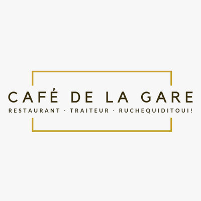 Illustration Café de la Gare Beautiran Beautiran