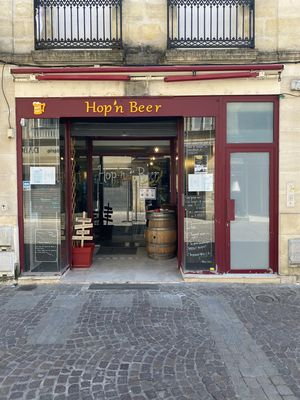 Illustration HOP'N BEER Libourne