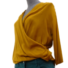 Image thumbnail product TOP CACHE COEUR THE KOOPLES JAUNE MOUTARDE 465549