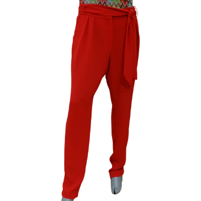 Image product PANTALON MANGO ROUGE 465696