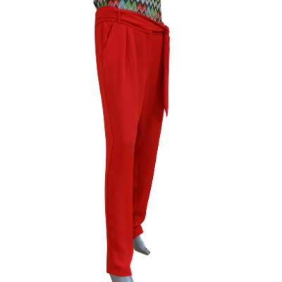 Image product PANTALON MANGO ROUGE 465698