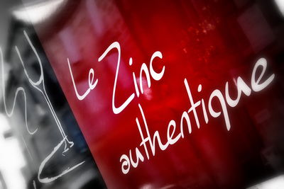 Illustration LE ZINC AUTHENTIQUE Libourne